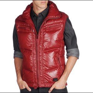 DIESEL. Warbo Winter Down Zip Up Vest